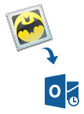 Bat to Outlook