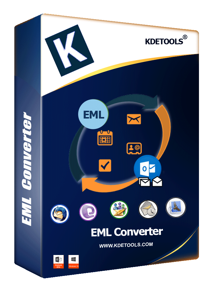 EML to PST Converter » Migrate, Export EML/EMLX to PST Outlook