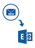 MBOX to Exchange server