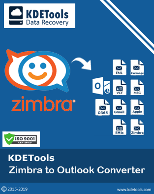 KDETools Zimbra to Outlook Converter