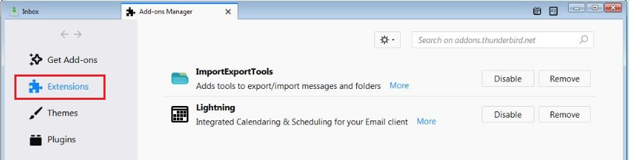 How to Import MBOX File in Thunderbird